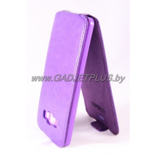 "Samsung Galaxy A7 A700F чехол-блокнот Experts ""Slim Flip Case"", фиолетовый"