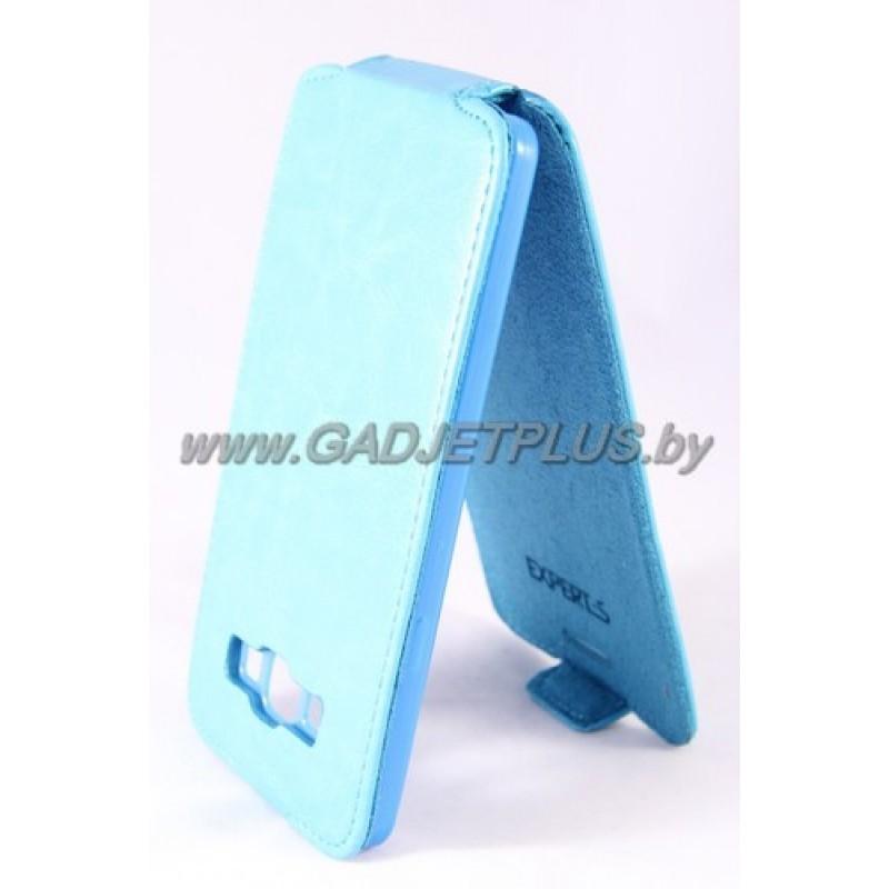 "Samsung Galaxy A7 A700F чехол-блокнот Experts ""Slim Flip Case"", бирюзовый"