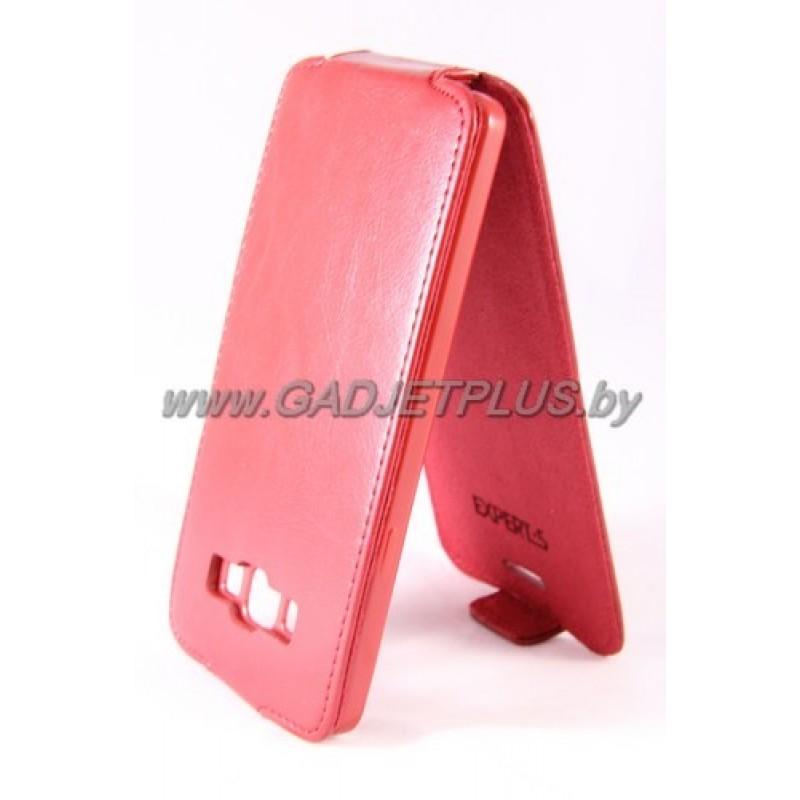 "Samsung Galaxy A7 A700F чехол-блокнот Experts ""Slim Flip Case"", красный"