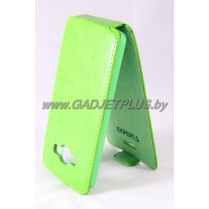 "Samsung Galaxy A5 A500F чехол-блокнот Experts ""Slim Flip Case"", зелёный"