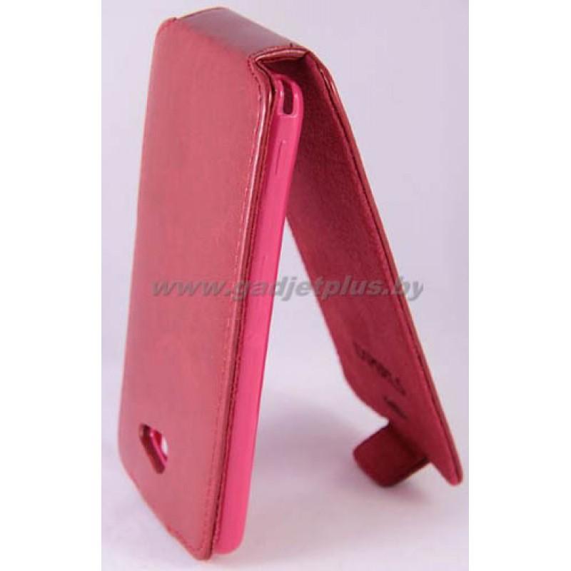 для Sony Xperia M Чехол-блокнот Experts Slim Flip Case красный