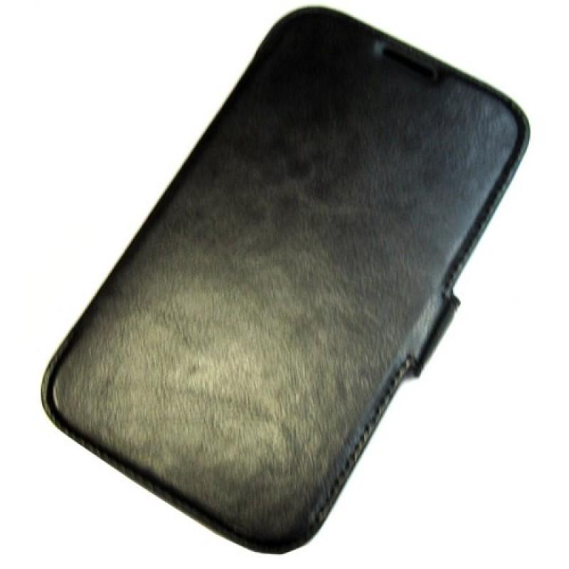 для Huawei Ascend G730 чехол-книга Experts Slim Book Case черный
