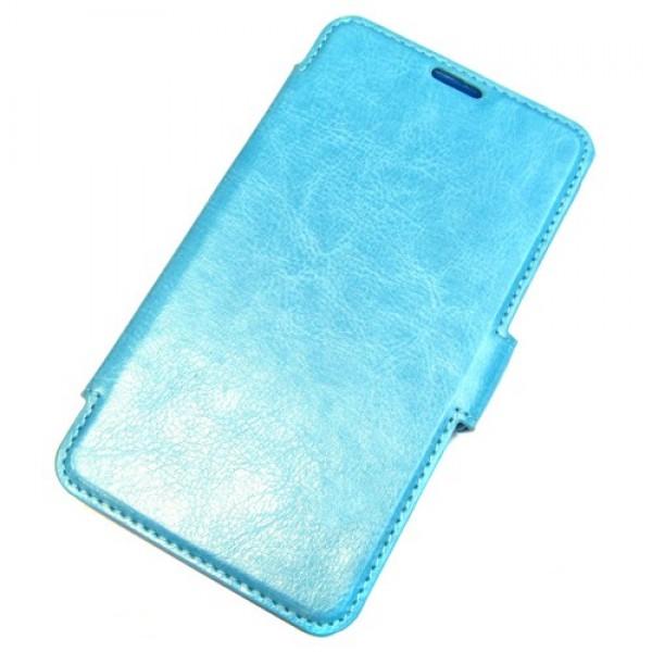 для Huawei Honor 3C чехол-книга Experts Slim Book Case голубой