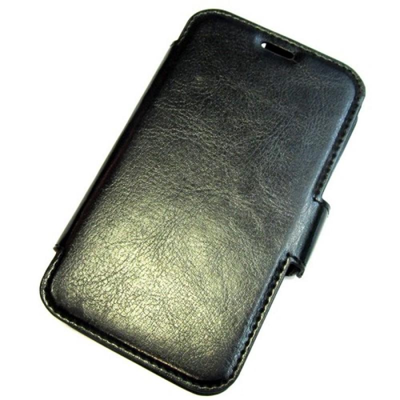 для Nokia Lumia 530 чехол-книга Experts Slim Book Case черный