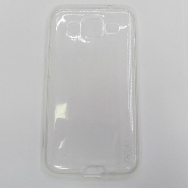 для Samsung Galaxy Core Advance (i8580) Ультратонкий силиконовый чехол-накладка Experts Fine TPU Case прозрачный