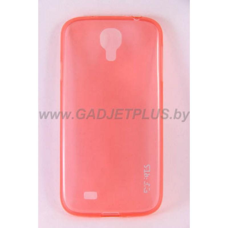 для Samsung Galaxy S5 (i9600) Ультратонкий силиконовый чехол-накладка Experts Fine TPU Case розовый