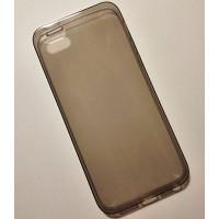 """Apple iPhone 5S/5G ультратонкий силиконовый чехол-накладка Experts """"FINE TPU CASE"""", чёрный"""