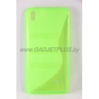 """HTC Desire 816 чехол-бампер силиконовый EXPERTS """"TPU CASE"""" зеленый"""