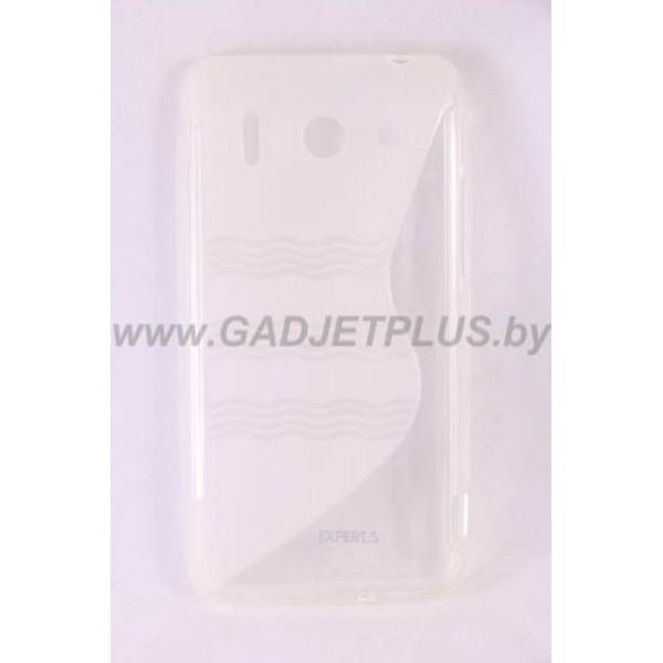 для Huawei Ascend G510 чехол-накладка силиконовый Experts TPU Case прозрачный