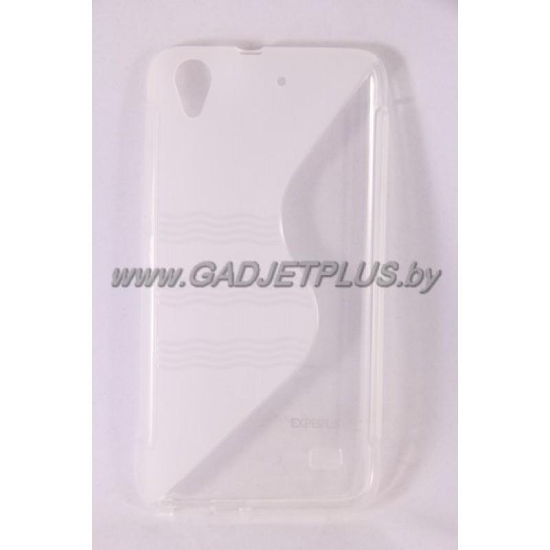 для Huawei Ascend G620s чехол-накладка силиконовый Experts TPU Case прозрачный