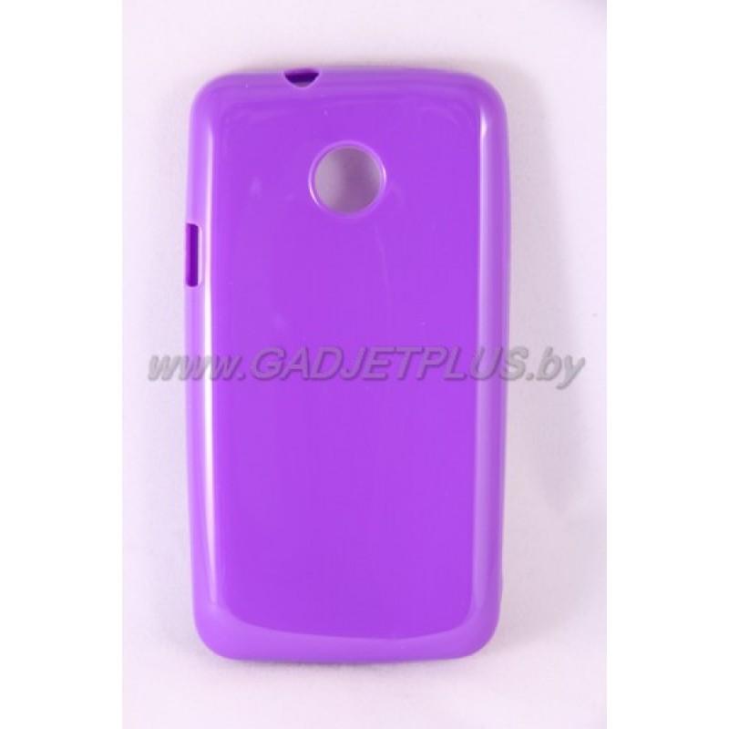 """Huawei Ascend Y330 чехол-бампер силиконовый Experts """"TPU CASE"""", фиолетовый"""