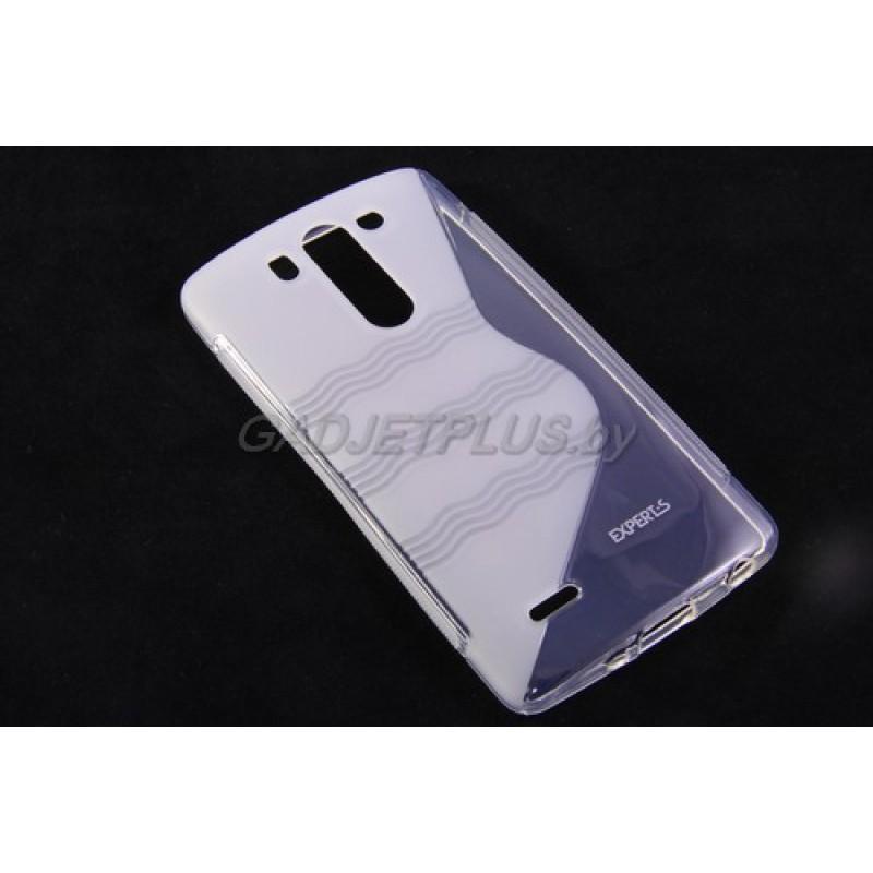 для LG G3s (D724) чехол-накладка силиконовый Experts TPU Case прозрачный