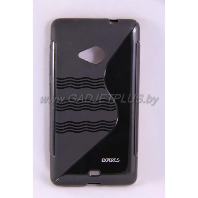 для Nokia Lumia 535 чехол-накладка силиконовый Experts TPU Case чёрный