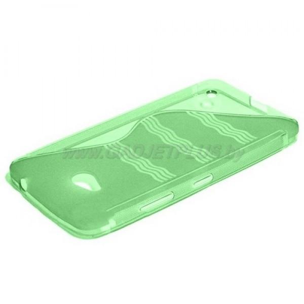 для Nokia Lumia 640 чехол-накладка силиконовый Experts TPU Case зеленый
