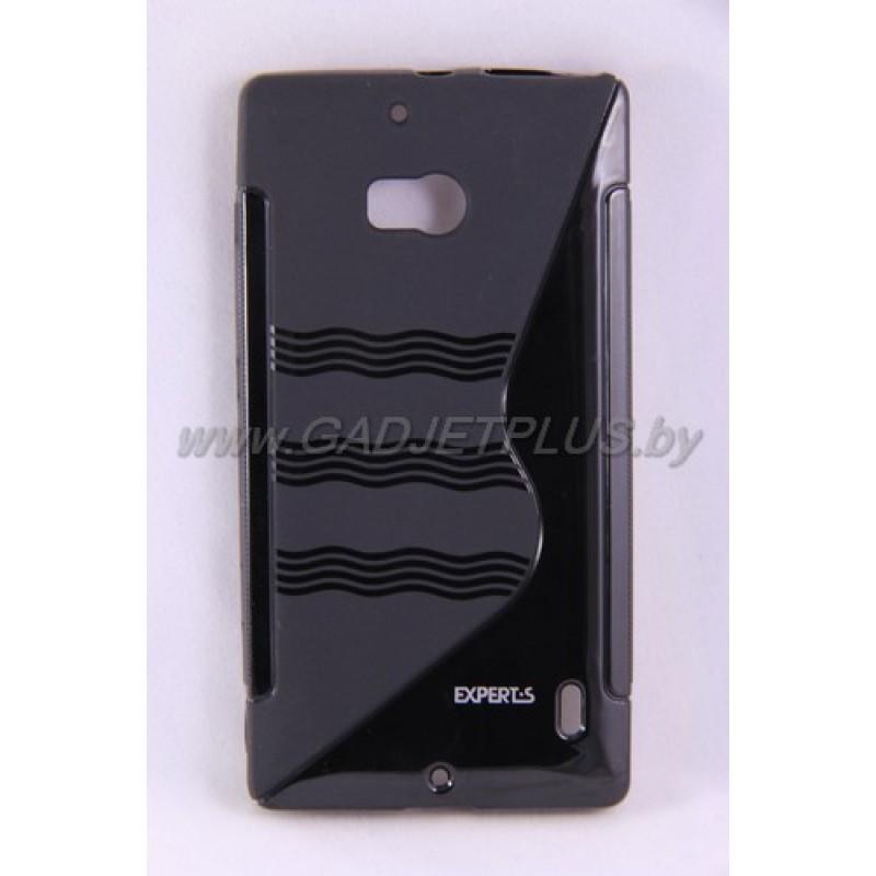 для Nokia Lumia 930 чехол-накладка силиконовый Experts TPU Case чёрный