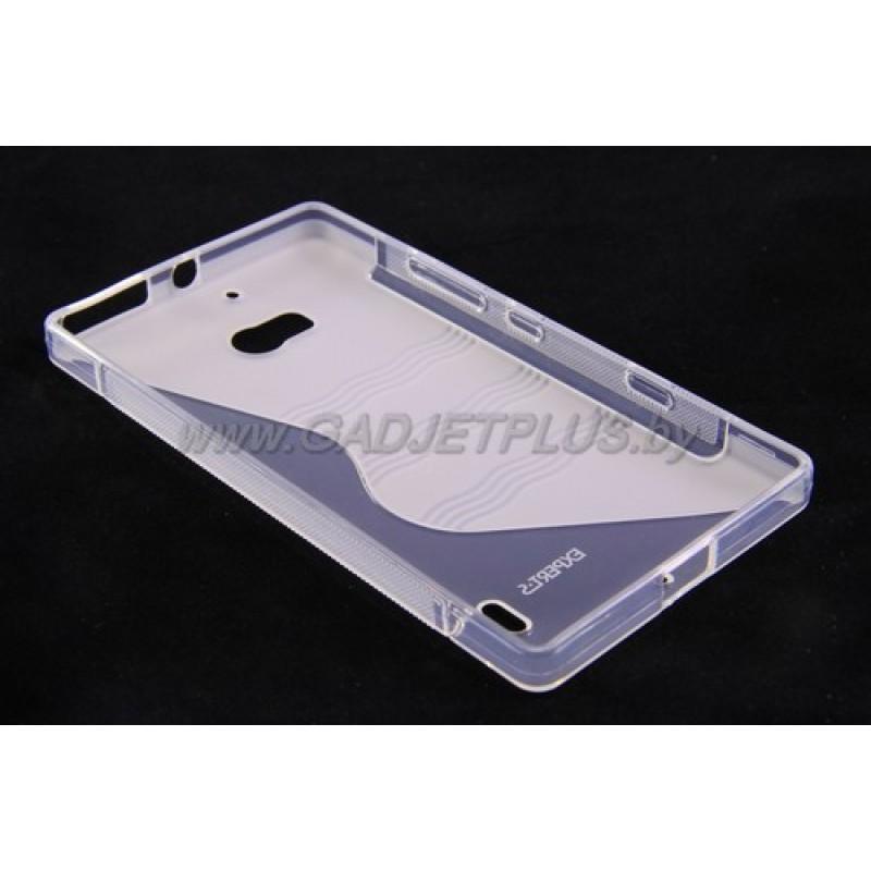 для Nokia Lumia 930 чехол-накладка силиконовый Experts TPU Case прозрачный