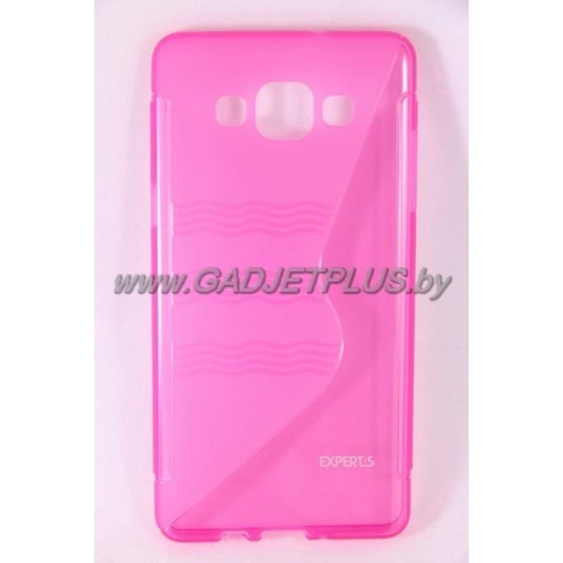 для Samsung Galaxy A5 SM-A500F чехол-накладка силиконовый Experts TPU Case розовый