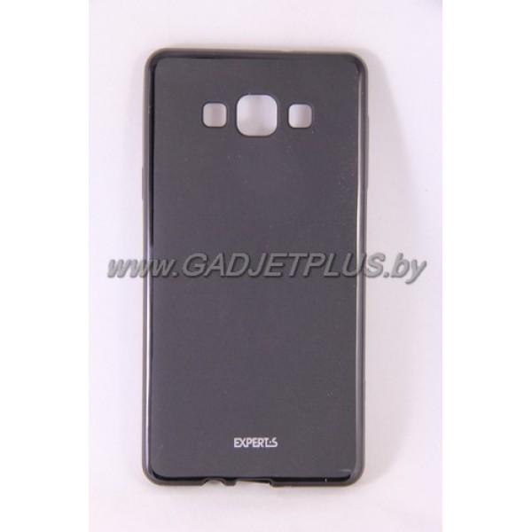 для Samsung Galaxy A7 SM-A700F чехол-накладка силиконовый Experts TPU Case чёрный