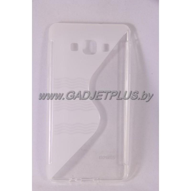 для Samsung Galaxy A7 SM-A700F чехол-накладка силиконовый Experts TPU Case прозрачный