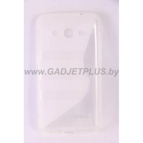 для Samsung Galaxy Core 2 G355 чехол-накладка силиконовый Experts TPU Case прозрачный