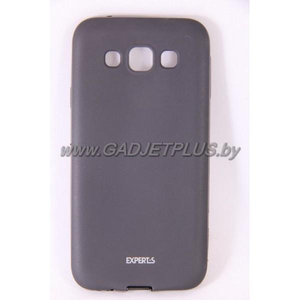 для Samsung Galaxy E5 SM-E500F чехол-накладка силиконовый Experts TPU Case черный