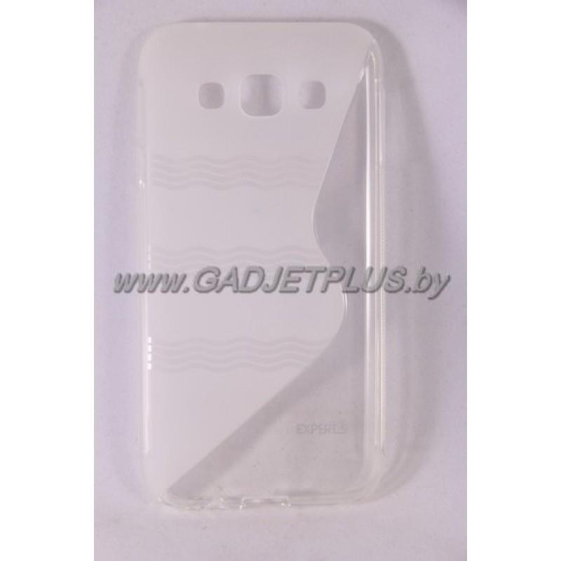для Samsung Galaxy E5 SM-E500F чехол-накладка силиконовый Experts TPU Case прозрачный