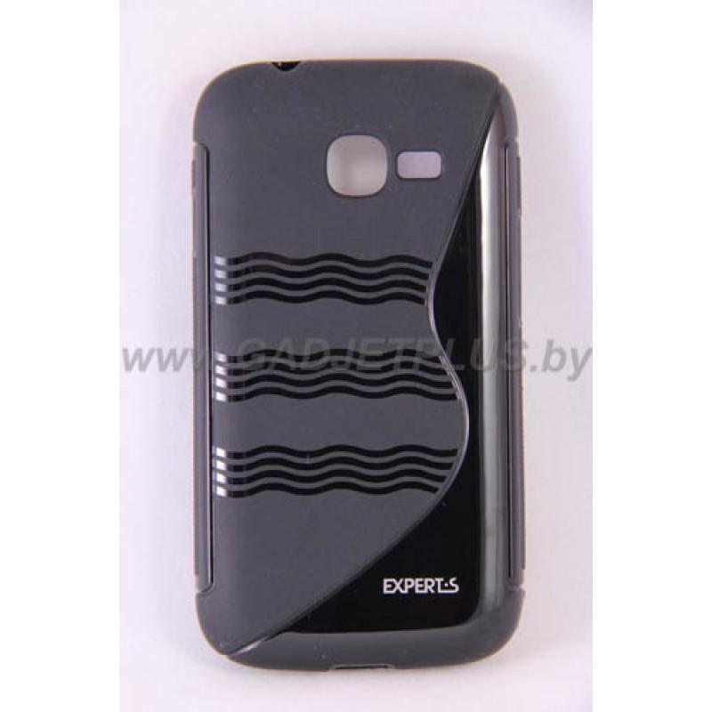 для Samsung Galaxy Star Plus (S7262) чехол-накладка силиконовый Experts TPU Case черный
