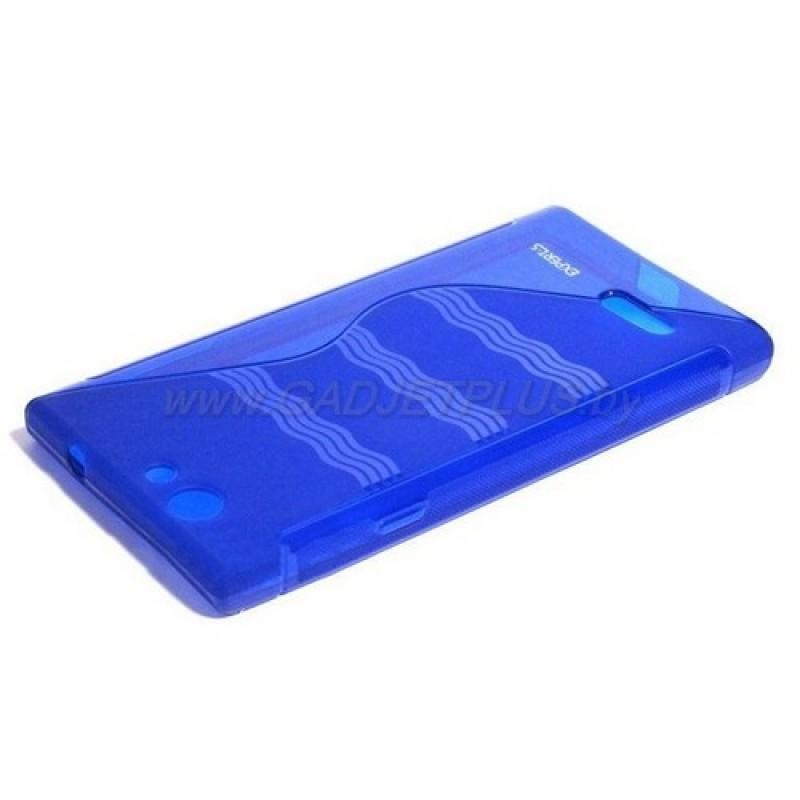 """для ZTE Blade L2 чехол-накладка силиконовый Experts """"TPU CASE"""" синий"""