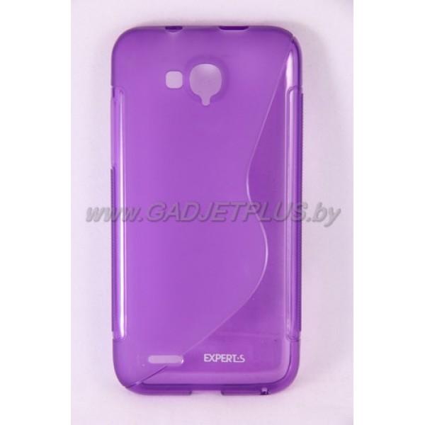 """ZTE Grand Era (V985) чехол-бампер силиконовый Experts """"TPU CASE"""", фиолетовый"""