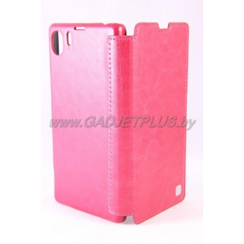 Sony Xperia Z1 чехол-книга Hoco Crystal Leather Case