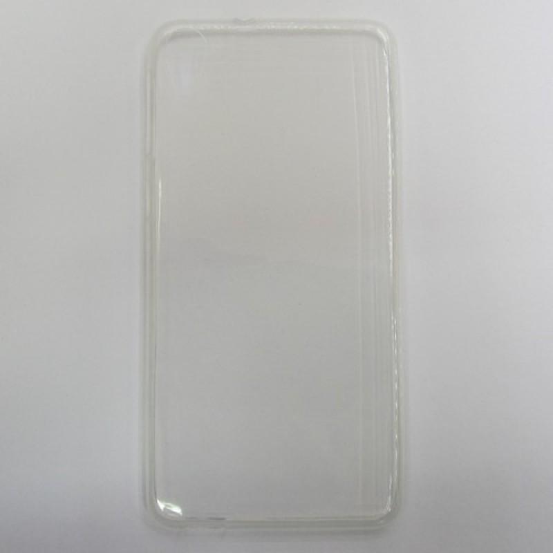 для HTC Desire 826 Ультратонкий силиконовый чехол-накладка 0.5mm Just Slim прозрачный