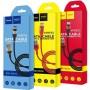 Кабель USB type-c (тайп-си USB) для зарядки телефона и синхронизации данных, Hoco X26 1м, цвет красный