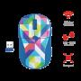 Мышь беспроводная Trust PRIMO Wireless Mouse Blue Geometry