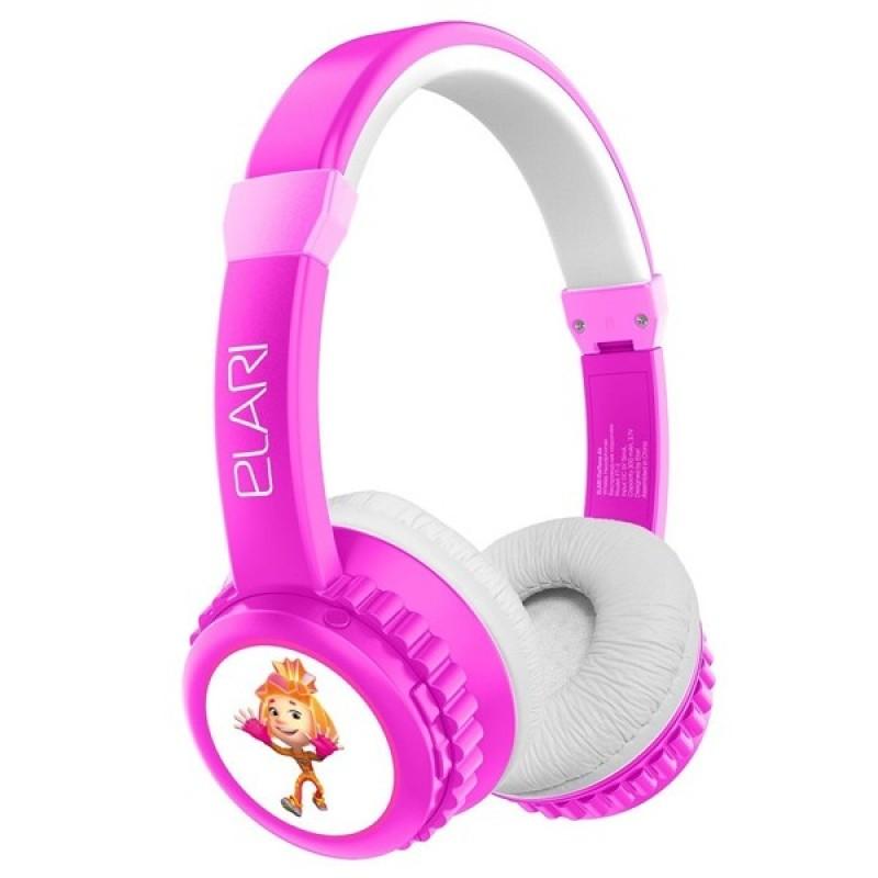 Детские беспроводные наушники Elari FixiTone Air, розовые