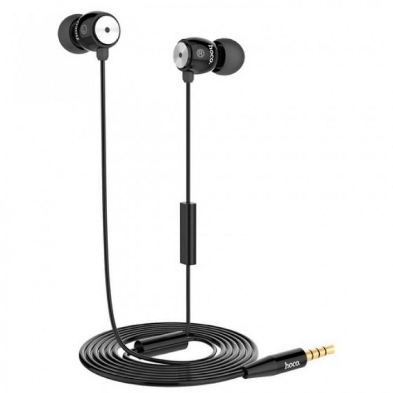Hoco EPM01 проводная гарнитура цвет черный
