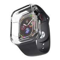 Силиконовый браслет для Apple Watch 4 / 3 / 2 / 1 Hoco WB09, черный