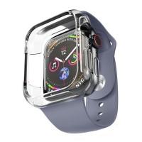 Силиконовый чехол-браслет для Apple Watch 4 / 3 / 2 / 1 Hoco WB09, синий