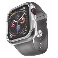 Силиконовый чехол-браслет для Apple Watch 4 / 3 / 2 / 1 Hoco WB09, серый