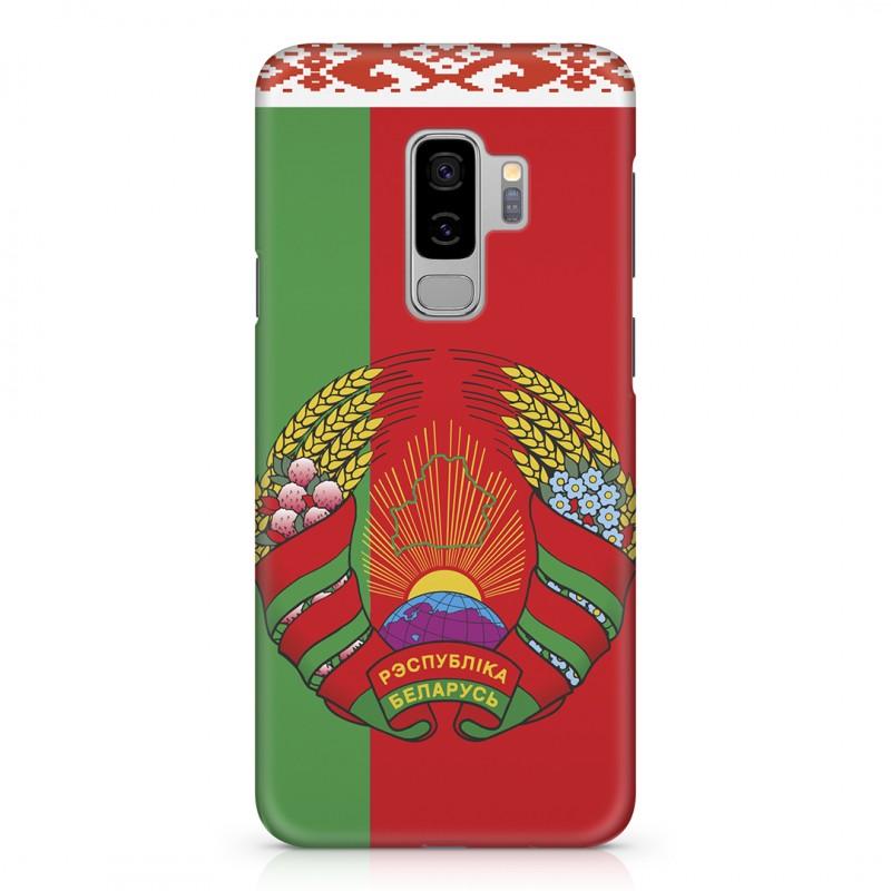 Чехол для телефона с картинкой №2516 Герб и Флаг Беларуси