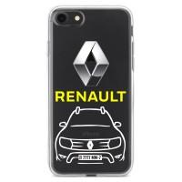 Чехол для телефона с картинкой №2757 Renault