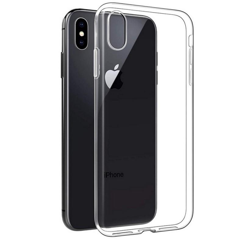 Силиконовый чехол для iPhone XS Max, Shemax Clear TPU, прозрачный