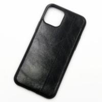 Чехол-накладка Shemax Leather TPU с имитацией кожи для iPhone 11 цвет черный