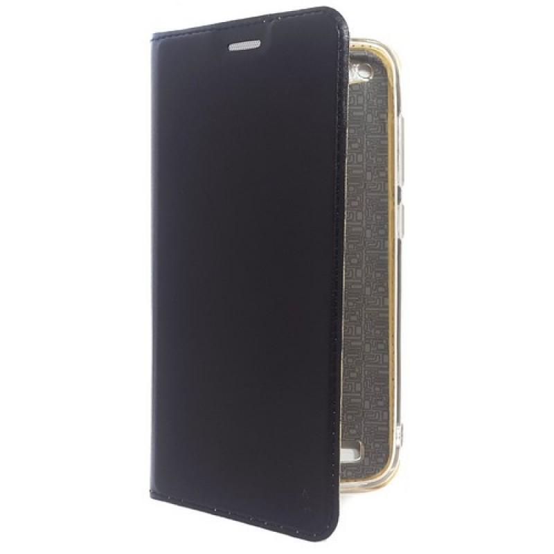 Чехол-книга для Xiaomi Redmi 5A, Luxury Flip Case, цвет чёрный