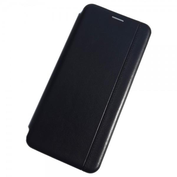 Чехол-книжка для Xiaomi Redmi Note 9 Pro, Magnetic ver.2, цвет черный