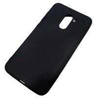 Чехол для Xiaomi Pocophone F1, силиконовый, чёрный