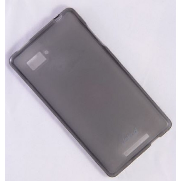 для Lenovo Vibe Z K910 чехол-накладка силиконовый + пленка Jekod матовый черный