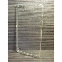 для Sony Xperia C4 Ультратонкий силиконовый чехол-накладкаTPU Case прозрачный