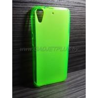 для HTC Desire 626 чехол-накладка силиконовый TPU Case матовый зеленый