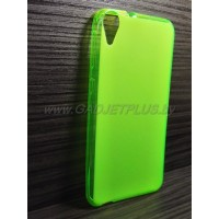 для HTC Desire 820 чехол-накладка силиконовый TPU Case матовый зеленый