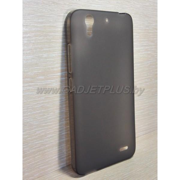 для Huawei Ascend G630 чехол-накладка силиконовый TPU Case матовый черный